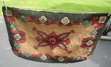 Early 1900's Hooked Rug-Very Good Condition.