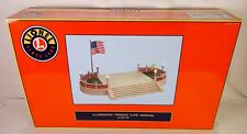 LONEL #6-34116 BEAUTIFUL ILLUMINATED TINPLATE TERRACE IN LATE COLORS-NIB!