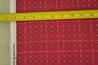 "By-the-Half-Yard, 44"", Yellow on Rosy-Pink Quilter's Cotton, Henry Glass, M6427"