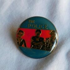 Vintage 1980's THE POLICE Hat Pin Pinback