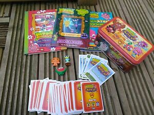 Moshi Monsters Bundle Books, Collectable Cards In A Tin