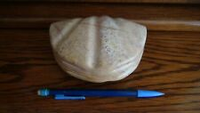 BOÏTE à BIJOUX en ALBATRE forme de coquillage