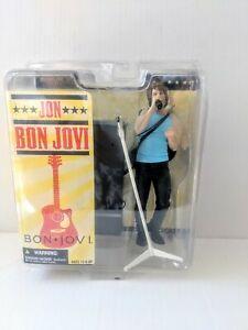 Jon Bon Jovi Action Figure New 2007 McFarlane Toys Amricons 2007 Tour Rock Star