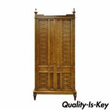 vintage antique furniture wardrobe walnut armoire. Post-1950 Vintage Antique Furniture Wardrobe Walnut Armoire E
