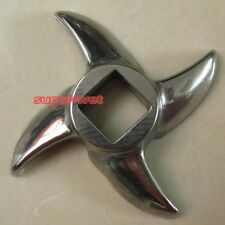 Replacement Steel Cutting Blade Knife Mincer Chopper for Size 12 Meat Grinder