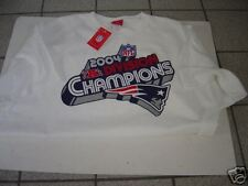MENS LEE SPORT NEW ENGLAND PATRIOTS 2004 DIVISION CHAMPS S/S TSHIRT SIZE L