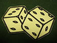 Iron On Patch - Twin Dice
