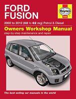 Ford Fusion Petrol & Diesel 2002 - 2011 Haynes Manual 5566