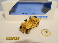 "SOLIDO MILITAIRE VEREM JEEP SAS SABLE "" EDITION LIMITEE "" MINT IN BOX"