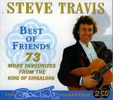 STEVE TRAVIS - BEST OF FRIENDS (NEW SEALED 2CD)