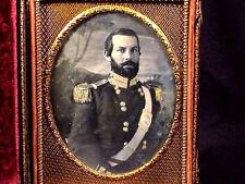 Mexican War U.S. Army Officer 1/4 Plate Dag.
