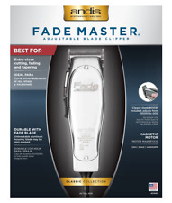 Andis Fade Master with Fade Blade Hair Clipper, Silver (01690)