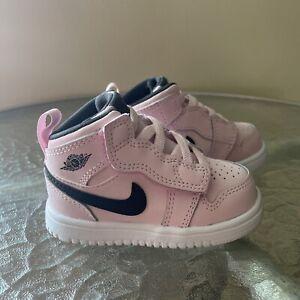 Nike Air Jordan 1 Mid ALT Pink Shoes AT4613-601 Size Baby Toddler 4C New!!!