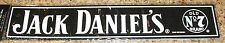 "JACK DANIELS WHISKEY OLD No7 BRAND BAR MAT PVC RUBBER 20"" X 3"".5"" NEW L@@K"
