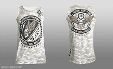 Xtreme Couture by Affliction Air Assault Tank Top Camo White MMA X-Large
