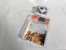 Indiana Jones, Elsa's Lucky Shamrock Zippo Lighter, Acrylic Display Plaque New