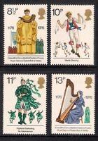 1976  BRITISH CULTURAL TRADITIONS SET MNH