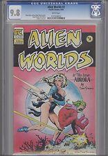 Alien Worlds #2 CGC 9.8 1983  Pacific : Dave Stevens Art Space Vixens: NEW Frame