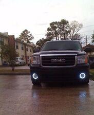 Angel Eye Fog Lamps Driving Light Kit for 2007-2014 GMC Sierra 1500, HD & Denali