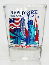 NEW YORK CITY NEW YORK GREAT AMERICAN CITIES COLLECTION SHOT GLASS SHOTGLASS