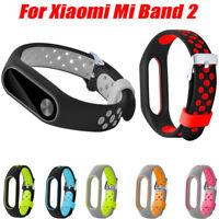 Light Weight Ventilate TPE Watch Strap Wristband Bracelet For Xiaomi Mi Band 2