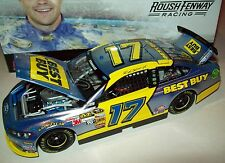 Ricky Stenhouse Jr 2013 Best Buy Flashcoat Color 17 Rookie Signed Autograph 1/24