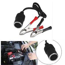12V 30A Car Cigarette Lighter Socket To Car Battery Alligator Clip Power Adapter