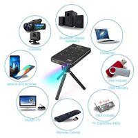 WIFI 4K HD Mini LED VideoProiettore DLP HDMI USB Portatile Home Proiettore 16GB