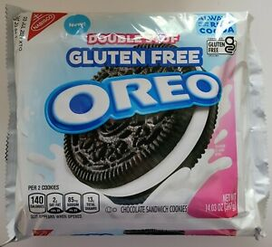 NEW Nabisco Oreo Double Stuf Gluten Free Chocolate Sandwich Cookies FREE SHIP