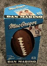 Dan Marino Synthetic Leather Official Size Football New 1986