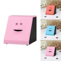 Facebank Face Bank Sensor Coin Eating Saving Money Box Kids Gift Toy