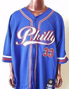 NLBM Philly Stars Men's Baseball Jersey Blue
