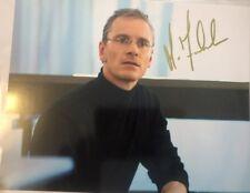 Michael Fassbender Signed 8x10 Steve Jobs Photo Apple