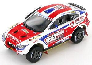 Mitsubishi Lancer ten Brinke - Baumel 2012 Dakar Rally 1:43