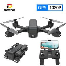 HolyStone DE25 Faltbar RC GPS Drohne mit 1080P WIFI HD Kamera Quadrocopter Drone