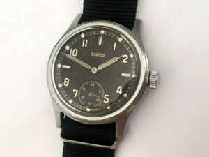 German military watch Silvana DH, order of the Wehrmacht, 1940s