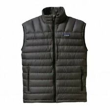 Patagonia Men's Down Sweater Vest Small Forge Grey FGE