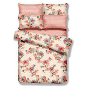 Duvet Cover 4 Piece Trendy Floral Twin Size Bedding Set by Dolce Mela DM501T