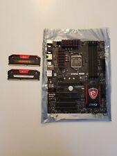 MSI GAMING 3 INTEL i3/i5/i7 MOTHERBOARD+ 8GB CORSAIR RAM DDR3 2400MHZ GAMING PC