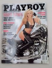 August 1997 Playboy Bill Maher Interview Biker Babes Centerfold Katlin Olson