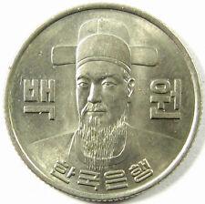 1975  Korea, South  100 Won  Km# 9  Nearly Uncirculated
