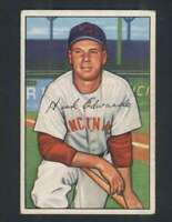 1952 Bowman #141 Hank Edwards EX/EX+ Reds 101731