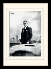 James Bond & Aston Martin DB5 Skyfall Framed & Mounted Print