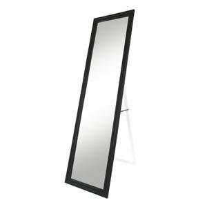 Specchio da terra rettangolare specchiera con cornice nera lucida 35xh150cm
