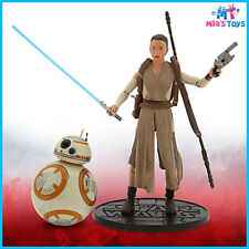 "Star Wars The Force Awakens Rey and BB-8 Elite Series 6"" Die Cast Figures new"