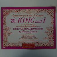 easy play piano selection THE KING AND I #2