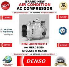 DENSO ARIA CONDIZIONATA COMPRESSORE AC OEM: a0022302311 per MERCEDES CLASSE M R