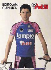 CYCLISME carte cycliste  BORTALAMI GIANLUCA équipe POLTI