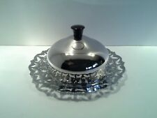 Vintage Plated Klosh with Stunning Crystal Insert