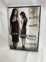 Don't Look Back (DVD, 2010, French, Widescreen) Monica Bellucci - RARE Brand New